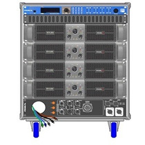 Amplificadores Proel Rack Line Array Axrackm3