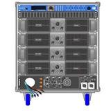 Amplificadores Proel Rack Line Array Axrackm3