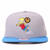 Boné New Era Snapback Aba Reta The Simpsons Bart 9fifty