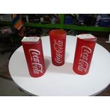 Coca Cola Vasos De Vidrio Rojos