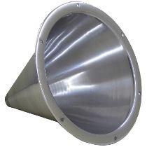 Cone De Aluminio Jarrão - Rosca Corneta Drive D200 D250x