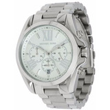 Relógio Michael Kors Mk5535 Prata Grande Novo V29