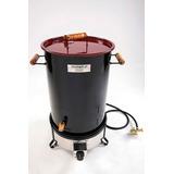 Cilindro Parrillero Multifuncional Dual A Gas - Carbón