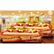 Caixa / Caixinha   Embalagem Para Hot Dog - 1000 Unidades