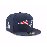 Gorra Newera 59fifty Patriots Patriotas Sb51 7 3/8