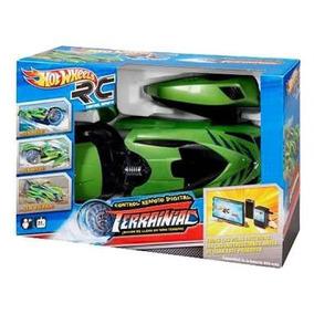 Hot Wheels Terrainiac Vehículo De Radio Control Rojo/verde