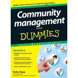 Community Management Para Dummies Pedro Rojas Ebook Oficial