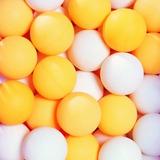 50 Bola De Ping Pong Tênis De Mesa