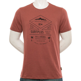 Remera Isla Surfplus Red Billabong Fluid Tienda Oficial