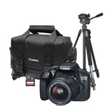 Camara Canon T6 Lente 18 55mm Maleta Gb2400 Tripie Memoria