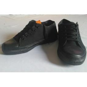 Zapatos Casual Negro Escolar.