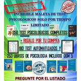 Test Psicológicos 350 Completos + 180 Automatizados Y Mas