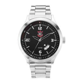 Relógio Technos Corinthians Escudo Prata