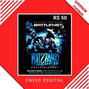Blizzard Battle.net R$50 Reais