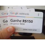 Cupom Para Anúncios Google - R$150,00 Reais De Bônus