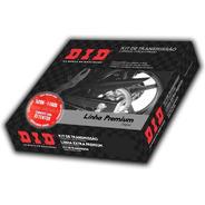 Kit Relação Cb 250 Twister 2019 40x13 Did Com Retentor