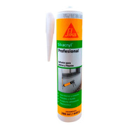 Sellador Adhesivo Acrílico Sikacryl Profesional 280 Ml Sika