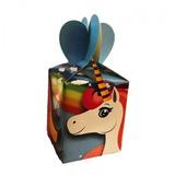 Caja Sorpresa Cumpleaños Unicornio X 6 Cotillón Activarte