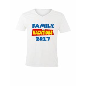 Camiseta Estampada Personalizada, Ref. Blanca Cuello V