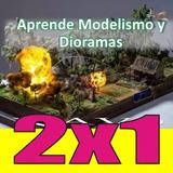 Aprende Modelismo Diorama Maqueta Hobby 80