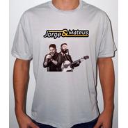 Camiseta Ou Baby Look Jorge E Mateus