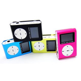 Reproductor Mp3 Con Visor Clip Hasta 8gb Varios Colores!!!