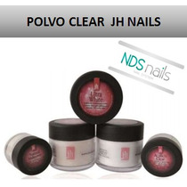 2 Oz Polvo Resina Clear O Transparente Jh Nails