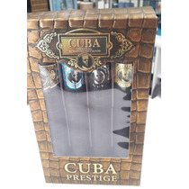 Paquete Cuba Prestige Cab. 35 Ml. C.u $ 360.envio Gratis