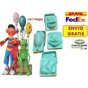 Molde Foamy Fomy Fofuchas Fofucho Kit 3 Amigos Envio Gratis