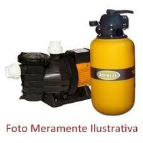 Conj. Filtro E Bomba P/ Piscina De Ate 21.000 Lts , Jacuzzi