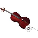 Violoncelo Cello 4/4 Eagle Ce 200 - Completo - Frete Grátis