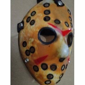 Facão E Mascara Jason Halloween Panico Bruxa Freddy Horror