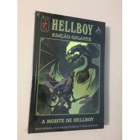 Hellboy Edição Gigante - A Morte De Hellboy - Lacrado