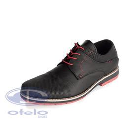 Zapatos Cuero Rafael Hombre Suela Caucho