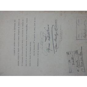 Documento Assinado Getulio Vargas E Afranio Mello Franco