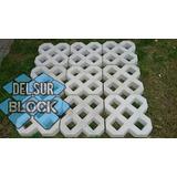 Bloque Césped Pasto Green Garden Block De Hormigón 35x35x6