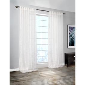 cortinas de voile lino rstico a medida x m2 - Cortinas Lino