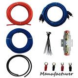 Calibre 10 Amp Kit Amplificador De Instalación De Cableado C