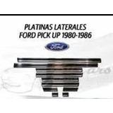Platinas Laterales Para Pick Up Ford 80 86