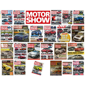 Revista Motor Show - Várias Edições. Escolha 3