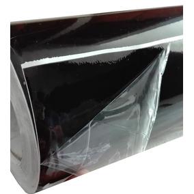 Vinil Negro Brilloso Automotriz Wrapping (techo, Espejos)