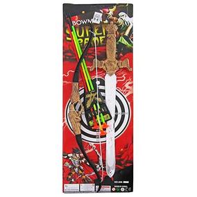 Arco E Flecha Com Acessorios E Espada Super Game