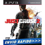 Just Cause 2 Play3 Psn Ps3 Digital Promoção Envio Rapido