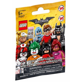 4 Bonecos Brinquedo Mini Figure Lego Batman Aleatório 71017