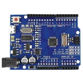 Arduino Uno R3 Atmega 328p Ch340 Mini Usb Board