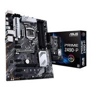 Motherboard Asus Prime Z490-p Aura Sync Lga 1200 Intel Gamer