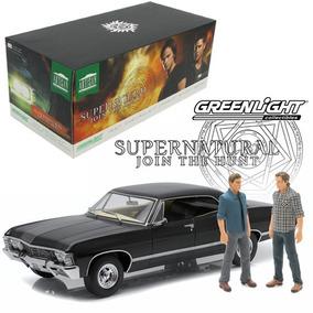 Supernatural Chevrolet Impala 1967 Escala 1/18 Greenligh