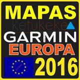 Mapa De Europa Para Gps Garmin Actualizado 3d 2016