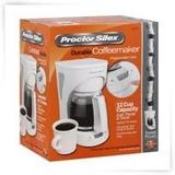 Cafetera Proctor Silex Blanca Y Negra - Somos Tienda Virtual