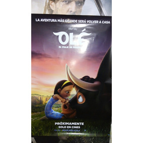 Poster De Ole Ninjago Jumanji2 Cine Original 1x0,70 Mts